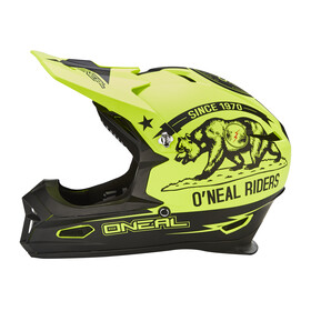 ONeal Fury RL Helmet California-black/neon yellow